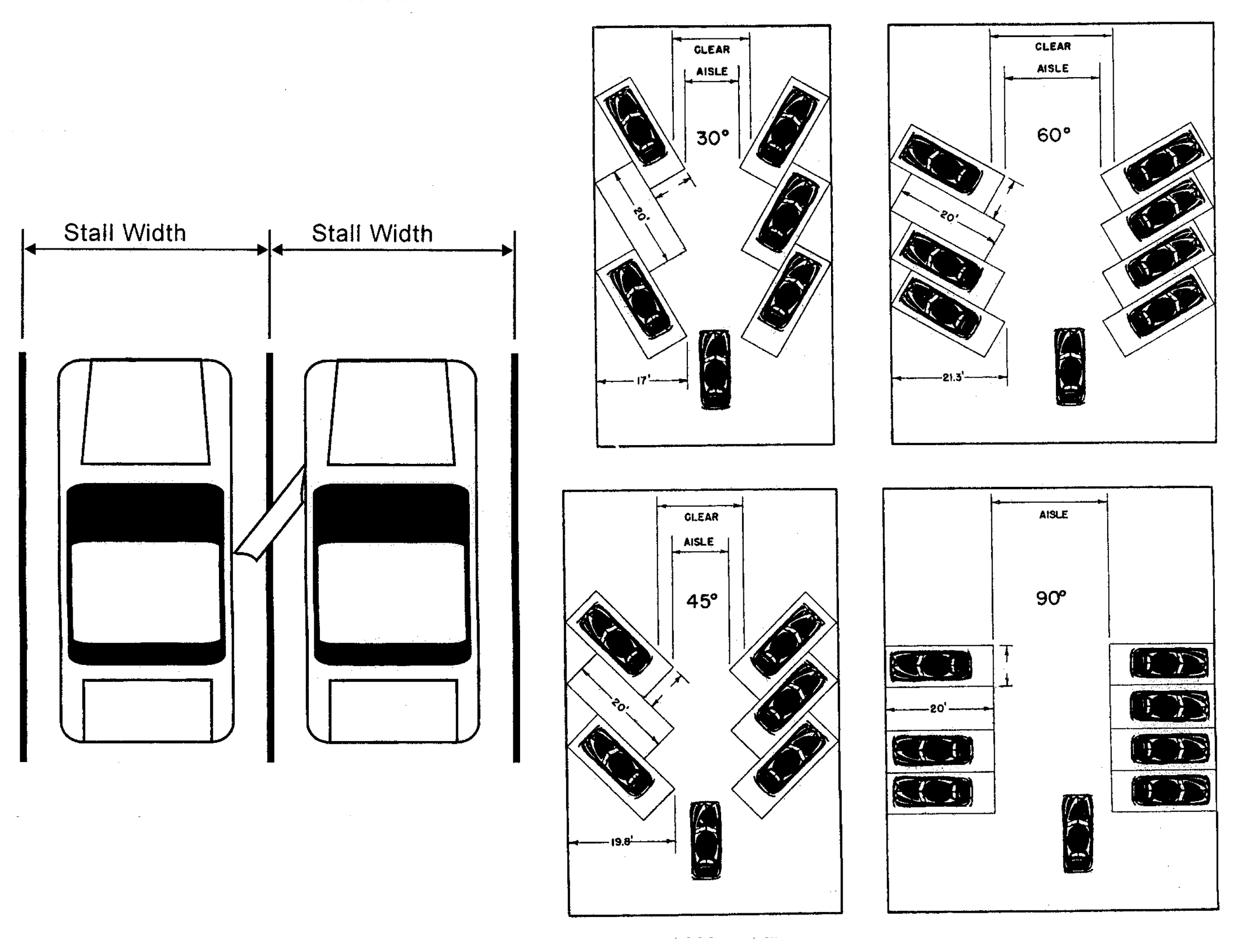 21 12 Parking Space And Aisle Design Specifications Article 21